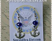 from my shop~ US Navy Anchor by Son and Sea FREE US shipping
