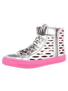 Jeffrey Campbell KIEFER Sneaker- Pink /Silver