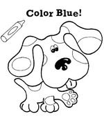 BLUE Color Activity Sheet Repinned by Totetudecom Printables