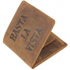Hasta LA Vista Wallet - Brown