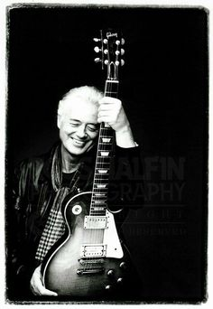 Jimmy Page by Ross Halfin Photography.