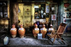 Rice Wine by Michael Steverson on 500px. Rice wine fermenting at a sidewalk shop. Nanning, Guangxi, China.