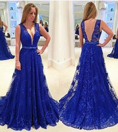 Com : buy royal blue prom dresses long backless prom dresses lace pageant dresses from reliable Blue Lace Prom Dress, Royal Blue Prom Dresses, Backless Prom Dresses, Tulle Prom Dress, Lace Dress, Tulle Lace, Pageant Dresses, Party Dresses, Dress Skirt