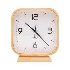 Leonardo Square Mantel Clock   dotandbo.com