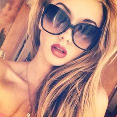 i love these big black sunglasses