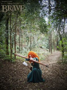 Merida - Brave cosplay by onlycyn.deviantart.com on @DeviantArt