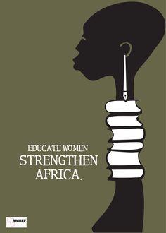 Educar a las mujeres fortalece a #Africa | #education #educacion