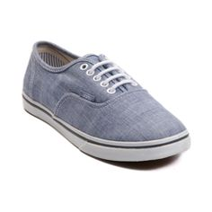 Vans Authentic Lo Pro Chambray Skate Shoe