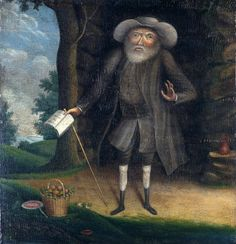 The Quaker Dwarf Who Challenged Slavery, Meat-Eating, and Racism This 1790 portrait of Benjamin Lay, by William Williams and his apprentice, depicts Lay in front of his cave. The basket of vegetables beside him is a hint of his vegetarianism. Racial Equality, Great Awakening, Destin, Environmentalist, His Travel, History Books, History Class, Family History, Historian