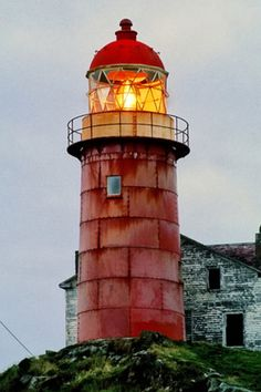 Ferryland Head Lighthouse, New Foundland, Canada
