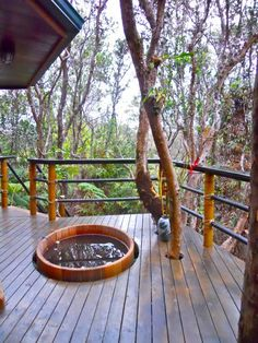 Check out this HomeAway treehouse property in Mahinui Na Lani-beautiful!