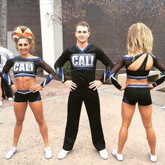 cheer-diary: California Allstars Black Ops new uniforms College Cheerleading, Cheerleading Uniforms, Cheer Stunts, Cheerleading Outfits, Cheer Athletics Cheetahs, All Star Cheer Uniforms, Cheer Team Pictures, Cheer Pics, Cheer Costumes