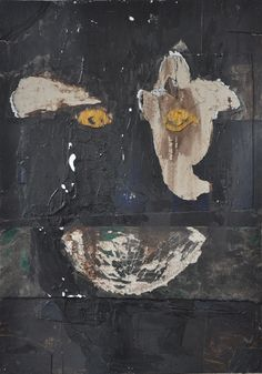 Theodor Grigoras - The Laughing Journal - 2015, mixed media 100 x 70 cm