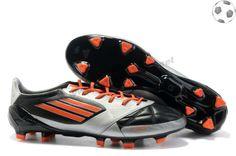 hot sale online 6276a a32f2 adidas f50 adizero miCoach Cuir FG Argent Noir FT7607 Mens Soccer Cleats,  Nike Soccer,