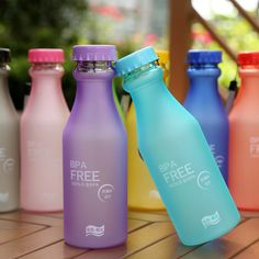 550 ML Unbreakable Plastic Water Bottle Camping/Outdoor/Biking/Sport BPA free Bottles Portable Leak-proof Soda Bottles, Juice Bottles, Drink Bottles, School Water Bottles, Bpa Free Water Bottles, Bottle Bottle, Sport, Drinking Water, Mugs