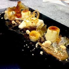 deconstructed banoffee