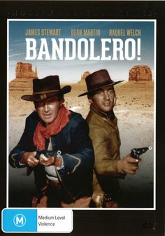 Bandolero * NEW DVD * James Stewart Raquel Welch Dean Martin George Kennedy