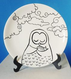 Arte Comodità - Prato decorativo - Mãe coruja