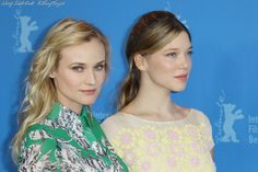 Diane Kruger and Lea Seydoux The Premiere of 'Farewell, My Queen'.