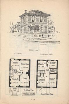 Artistic City Houses by Herbert C. Chivers, Architect: Page 3 (of 32)