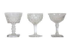 Best Mixed Champagne Coupes for events and weddings at ArchiveRentals. Your local rental boutique. Click or call 888-459-6598.