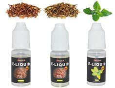 """Neue E-Zigaretten, Shisha und Zubehör  """"Salcar® 3x 10ml Premium E-Liquid für E-Zigarette, 0,0mg Nikotin, USA Mix & Virginia & Minze"""" hier kaufen:    •••► http://elektro-zigarette-kaufen.billig-onlineshoppen.com/ ◄•••  #E_Zigarette  #E_Shisha #Liquids"""