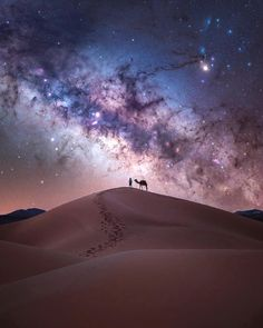 """Milky Way above the Sahara Desert, Morocco"" Milky Way Photography, Landscape Photography, Nature Photography, Milky Way Pictures, Ciel Nocturne, Image Nature, Photo Awards, Jolie Photo, Nature Pictures"