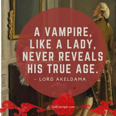 10 Most Popular Gail Carriger Quotes After 10 Years (Behind the Magic) - Gail Carriger Best Vampire Movies, Vampire Books, Tom Cruise Quotes, Soggy Biscuit, Anne Rice Vampire Chronicles, Anne Rice Books, Etiquette And Espionage, Horror Movie Quotes, Apple Uk