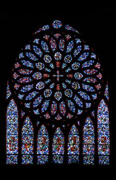 stained-glass | Stained glass window at St. Paul's Church in… | Flickr