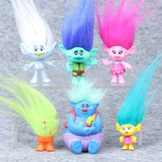 Buy Online 2017 Trolls Movie Dreamworks Figure Collectible Dolls Poppy Branch Biggie PVC Trolls Action Figures Doll Toy For Kids Figurines D'action, Dreamworks, Birthday Gifts For Kids, Kids Gifts, Gifts Uk, Baby Toys, Kids Toys, Toys Uk, Zou