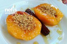 Fırın Poşetinde Ayva Tatlısı Cookie Desserts, Party Desserts, Dessert Recipes, Turkish Recipes, Italian Recipes, Ethnic Recipes, Turkish Sweets, Pasta Cake, Fish And Meat