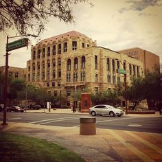 Old City Hall on Phoenix, AZ. #myphx #phoenix #cityhall #architecture #arizona