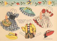 Sharon's Sunlit Memories: Heidi and Peter Paper Dolls (Saalfield)