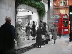 Peter MacDiarmid, Natale a Londra, ieri e oggi