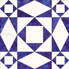 I just wondered tonight, why these beautiful, traditional quilt block patterns can't be made just the way they are?...  Storm at Sea Quilt Block...love the motion of this block/quilt