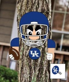 $24.97 Kentucky Wildcats Tree Football Player Face Statue from WildcatGifts.com   Direct link:  http://www.wildcatgifts.com/product/kentucky-wildcats-tree-football-player-face-statue/