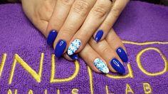 by Agata Kaczmarek Indigo Young Team - Follow us on Pinterest. Find more inspiration at www.indigo-nails.com #nailart #nails #indigo #blue #lagoon