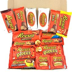 Freebies From Reese – Frugal Canadians Snack Recipes, Dessert Recipes, Snacks, Hershey Kisses Flavors, Chocolate Explosion Cake, Amazon Auto, Reese's Chocolate, Peanut Butter Candy, Snack Items