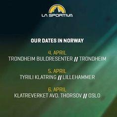 """82 likerklikk, 2 kommentarer – La Sportiva Norge (@lasportivanorge) på Instagram: """"Climb-In Gym er i Norge..! Sees vi på en av dagene? Vi har med oss nyhetene Kataki, Kataki Ws og…"""""""