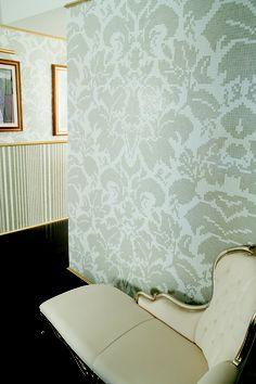 Trend Group Damask tile mosaic wallpaper - Splash Showroom