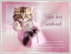 Gifs Bon Week-end Page 25 Bon Weekend, Weekend Gif, Brother Birthday, Birthday Fun, Friend Birthday, Boyfriend Care Package, Best Boyfriend Gifts, Happy Weekend Images, Dad Valentine