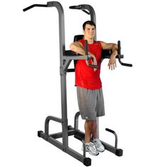 XMark  VKR Vertical Knee Raise with Dip and Pull-up Station Power Tower XM-7617 *** For more information, visit image link.