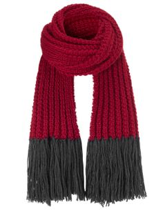 Red Wool Tomlin Scarf | The North Circular | Avenue32