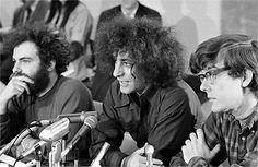 Abbie Hoffman (center) A leader of the Anti-War Movement
