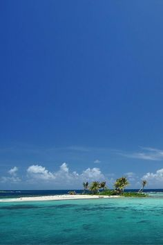 The beautiful blues of Belize