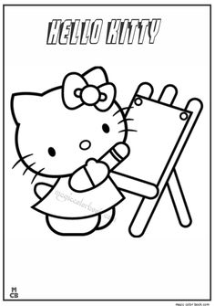 hello kitty drawings coloring pages coloring pages for kids