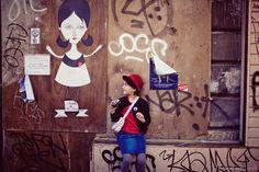 #fredlechevalier #streetart  Fred le chevalier