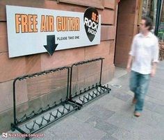 Free Air Guitars - Get 'Em While They Last! (funny,lol,music,guitar)