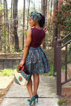 Shop African Print dresses, African print bags and headwraps African American Fashion, African Print Fashion, Africa Fashion, Asian Fashion, Fashion Prints, African Print Skirt, African Print Dresses, African Fashion Dresses, African Dress
