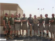 marines. kilts. done.